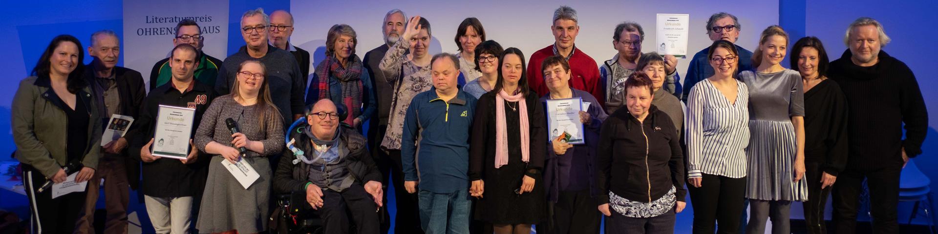 Literaturpreis Ohrenschmaus Preisverleihung 2019